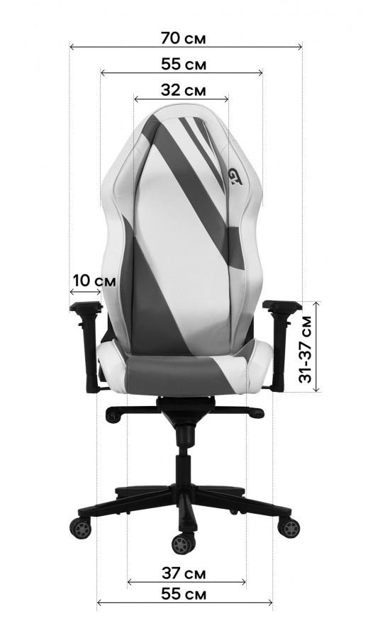 Геймерське крісло GT Racer X-3101 Wave Black/Blue