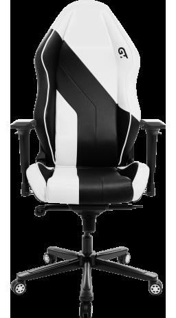 Геймерське крісло GT Racer X-3102 Wave Black/White