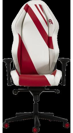Геймерское кресло GT Racer X-3103 Wave White/Red