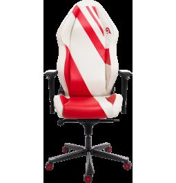 Геймерське крісло GT Racer X-3103 Wave White/Red