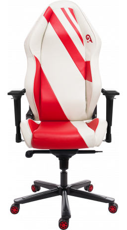 11Геймерське крісло GT Racer X-3103 Wave White/Red