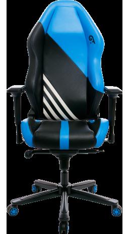 11Геймерське крісло GT Racer X-3104 Wave Black/Blue
