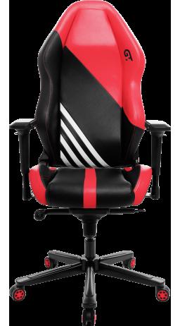 11Геймерське крісло GT Racer X-3104 Wave Black/Red