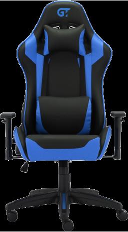 11Геймерське крісло GT Racer X-3501 Black/Blue