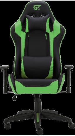 11Геймерське крісло GT Racer X-3501 Black/Green
