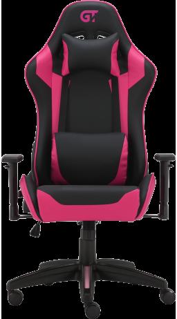 11Геймерське крісло GT Racer X-3501 Black/Pink