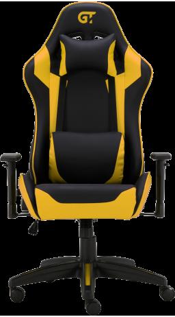 11Геймерське крісло GT Racer X-3501 Black/Yellow