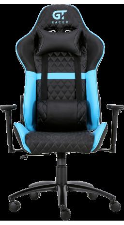11Геймерське крісло GT Racer X-3505 Black/Blue