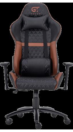 11Геймерське крісло GT Racer X-3505 Black/Brown