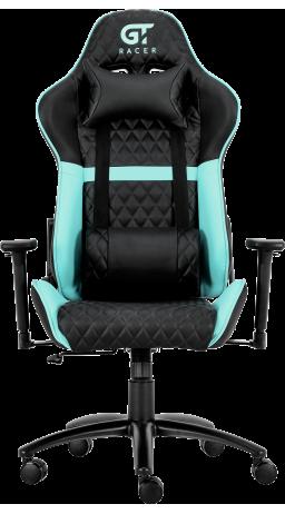 11Геймерське крісло GT Racer X-3505 Black/Mint