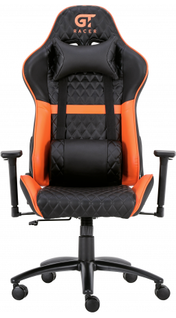 11Геймерське крісло GT Racer X-3505 Black/Orange