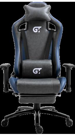 11Геймерське крісло GT Racer X-5105 Black/Blue
