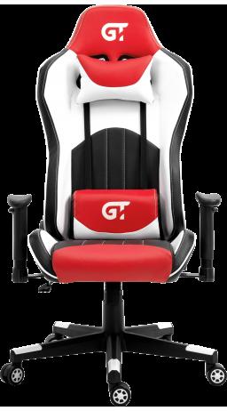 11Геймерське крісло GT Racer X-5813 Black/Red/White