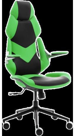 11Геймерське крісло GT Racer X-6691 Black/Green