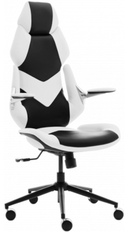 11Gaming chair GT Racer X-6691 Black/White
