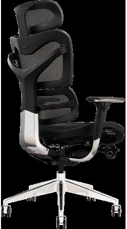 11Офісне крісло GT Racer X-702 Black (W-21)