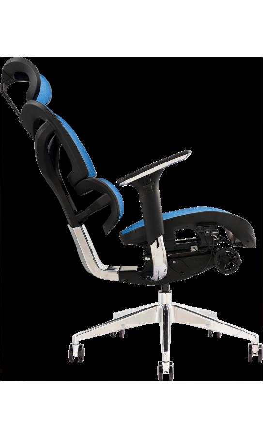 Офисное кресло GT Racer X-702 Blue (W-65-1)