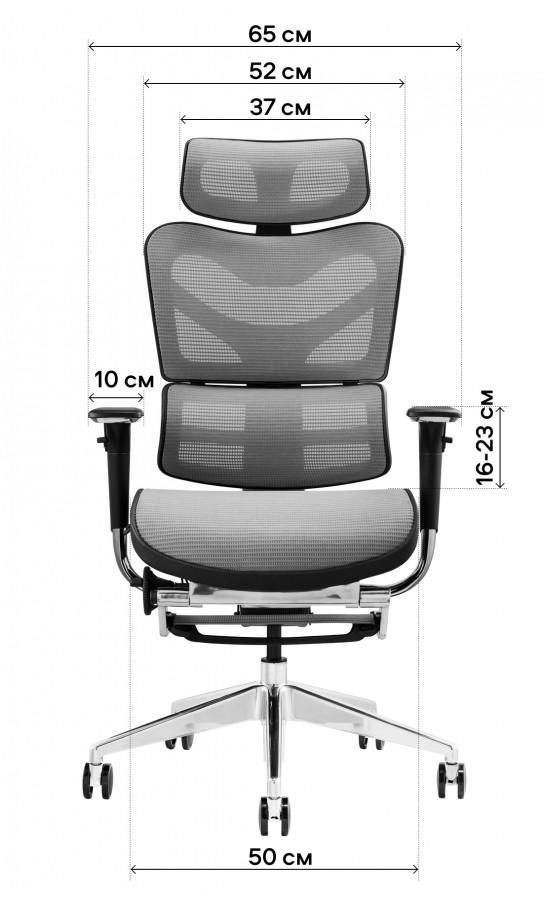 Офісне крісло GT Racer X-702L Blue