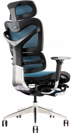 11Офісне крісло GT Racer X-702L Blue (W-85)