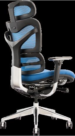 Офисное кресло GT Racer X-782 Blue (W-25 B-45)