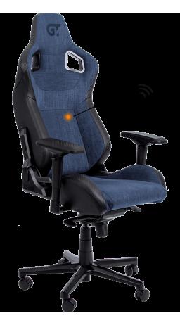 11Геймерське крісло GT Racer X-8005 Dark Blue/Black