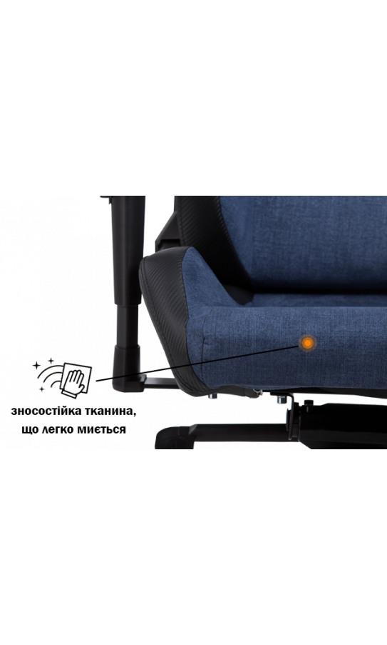 Геймерское кресло GT Racer X-8005 Dark Blue/Black