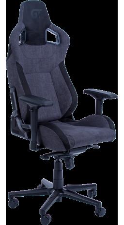Геймерське крісло GT Racer X-8005 Dark Grey/Black Suede