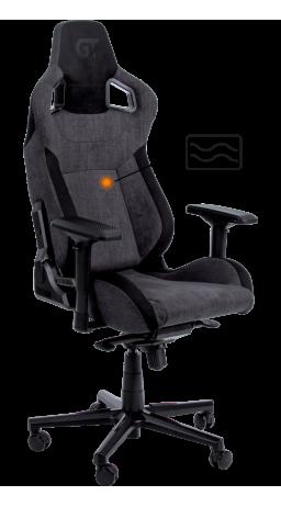 Геймерське крісло GT Racer X-8005 Dark Gray/Black Suede