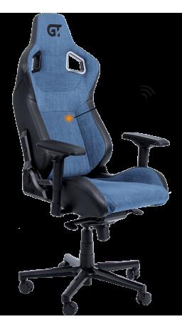 11Геймерське крісло GT Racer X-8005 Light Blue/Black