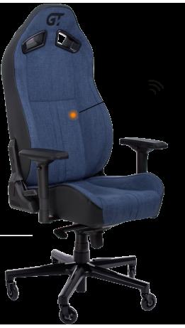 Геймерське крісло GT Racer X-8009 Fabric Dark Blue/Black