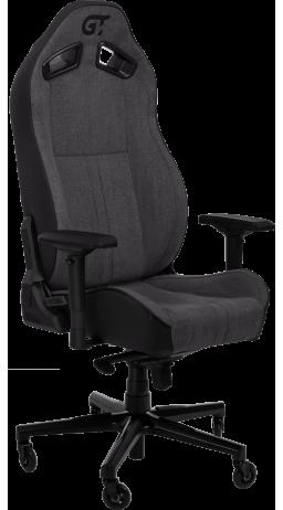 11Геймерське крісло GT Racer X-8009 Fabric Dark Gray/Black