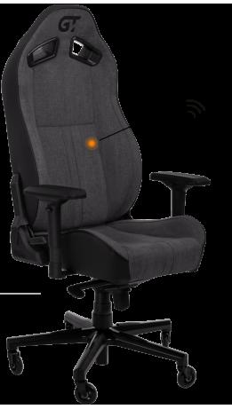 Геймерське крісло GT Racer X-8009 Fabric Dark Gray/Black
