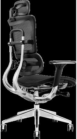 11Офісне крісло GT Racer X-801 Black (W-21)