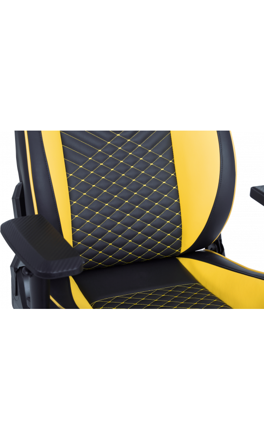 Геймерське крісло GT Racer X-8010 Black/Yellow