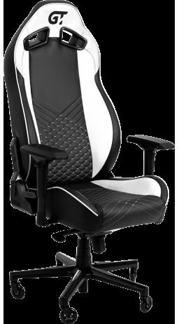 11Геймерське крісло GT Racer X-8010 Black/White