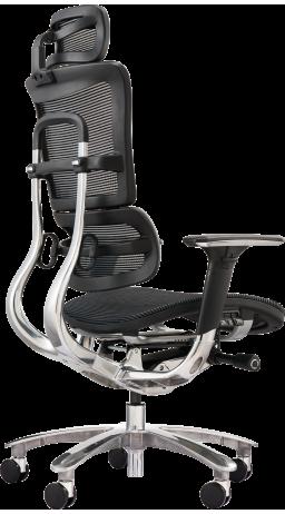 Офисное кресло GT Racer X-801A Black (W-21)