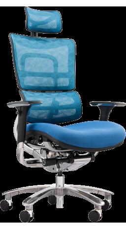 Офісне крісло GT Racer X-801A Blue