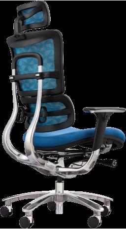 11Офісне крісло GT Racer X-801A Blue (W-55 B-45)