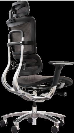 11Офісне крісло GT Racer X-801A Gray (W-80)