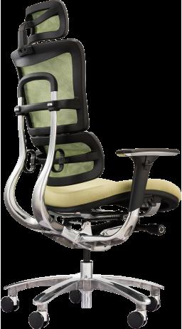 11Офісне крісло GT Racer X-801A Green (W-54 B-44)