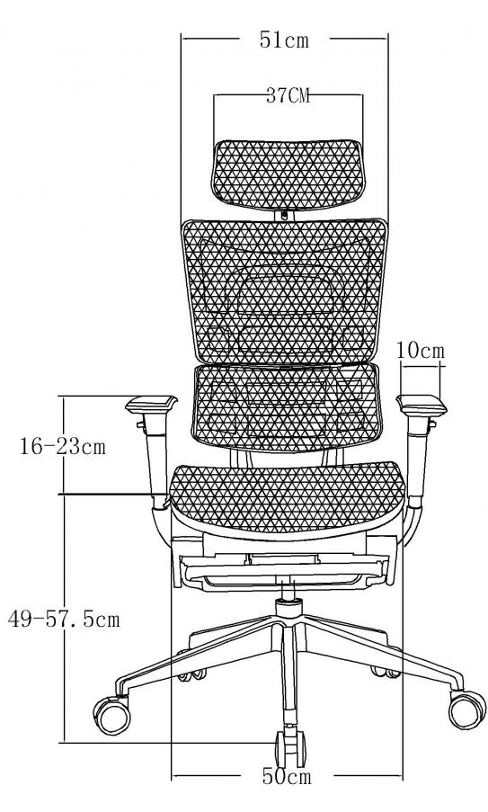Офісне крісло GT Racer X-801L Blue