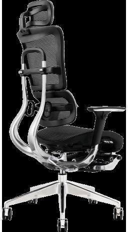 11Office chair GT Racer X-801L Black (W-21)