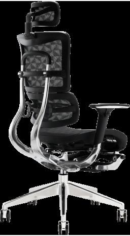 11Офісне крісло GT Racer X-801L Black (W-51)
