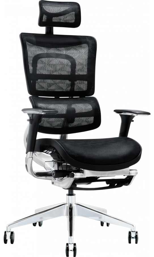 Офісне крісло GT Racer X-801L Black