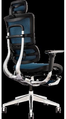 11Офісне крісло GT Racer X-801L Blue (W-85)
