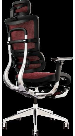 11Офісне крісло GT Racer X-801L Red (W-82)