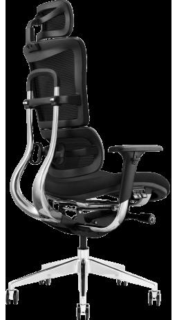 11Офісне крісло GT Racer X-802 Black (W-21, B-41)