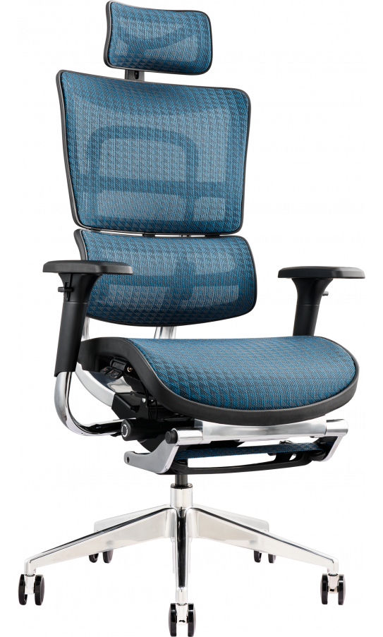 Офісне крісло GT Racer X-802L Blue