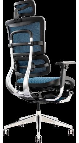 Офисное кресло GT Racer X-802L Blue (W-85)