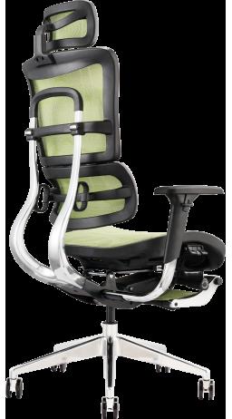 Офисное кресло GT Racer X-802L Green (W-74)